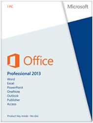 Microsoft Office 2013 pro Jpmcomon