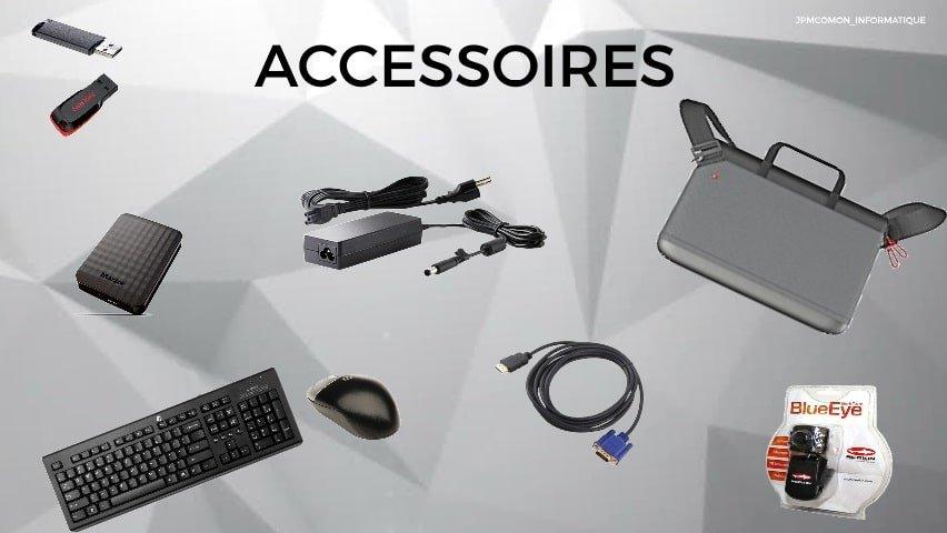 Accessoires, Jpmcomon, Saint brieuc, clavier, souris, hdmi, saccoche, alimentation pc portable