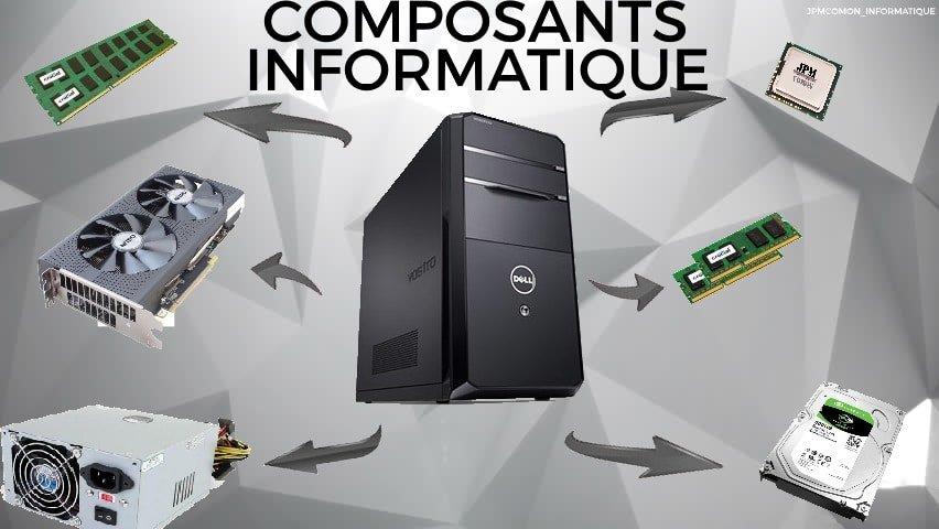 Composants informatique, composants, informatique, Jpmcomon, ram, cartes graphiques, alimentation, carte mère, saint brieuc