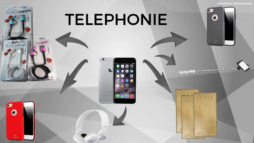 Téléphones, portables, téléphonie, iphone, Jpmcomon, écran de verre, accessoires mobiles, saint brieuc